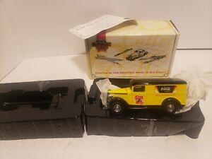 Matchbox Collectibles COCA-COLA 1937 GMC Delivery Truck Die-Cast  1:43 COA