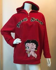 BETTY BOOP Pure Sass Licensed Pullover Hooded Sweatshirt Hoodie 1X 16W