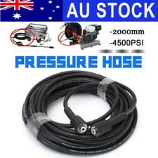 AU 20m 4500PSI High Pressure Water Cleaner Washer Hose 14mm Male To Male Connect