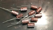 10pcs ELNA 4.7UF 50V High-END SILMIC II Series HIFI Audio Capacitor