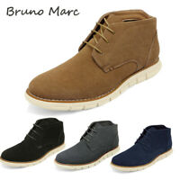 Bruno Marc Men's Suede Chukka Boots Lace up Dress Casual Business Ankle Boots