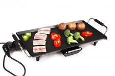 Electric Teppanyaki Table Top Grill Griddle BBQ Hot Plate Camping Festival Cook