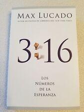 3:16 : Los Numeros de la Esperanza by Max Lucado (2008, Paperback)