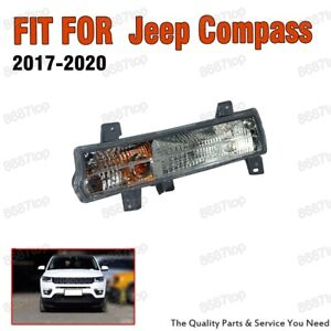 Left Side Front Bumper Corner Turn Signal Lamp Light For Jeep Compass 2017-2020