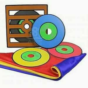 COLOR CHANGING RECORDS w/SILKS & DVD VIRTUAL VERY VISUAL PARTY STAGE MAGIC TRICK
