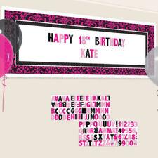 Articoli rosa compleanno adulto per feste e occasioni speciali, tema animali