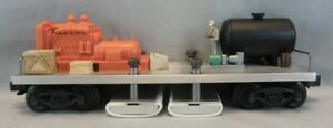 Custom Made O Scale Track Cleaning Car - VGC