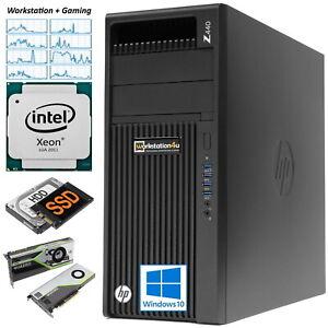 HP Z440 Workstation Xeon E5-2637v3 ✅ 32GB ram ➕ 500GB SSD ➕ 1000GB HDD ➕ nvidia