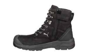 PUMA Conquest ZIP sider BLACK 630737  WORK BOOTS top of the range PUMA boot shoe