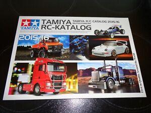 Tamiya Radio Control Catalogue 2015/2016