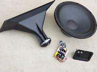 18-Inch 2-Way High Efficiency Speaker Kits Eminence woofer, Celestion Horn & XO