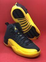 Nike Air Jordan Retro 12 University Gold Black Yellow 130690-070 Size 8