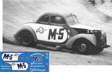 CD_1610 #M-5 Speedy Thompson Fish Carburator  1937 Chevy  1:32 scale DECALS