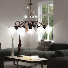 Maison de campagne lampe suspension de style feuilles tendrils salle à manger