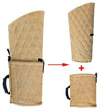 New Dog Bite Training Sleeve K9 Police Arm Protection Tan Hemp Cotton Padding
