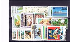 GRENADA GREN. VARIOUS UNMOUNTED COMMEMORATIVES SETS BETWEEN 1984-86 MNH.