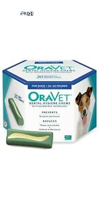 Oravet  Dental Hygiene Chews Small Dogs 10-24 lbs, 30 Chews Expired 6/2018