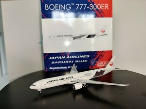 Phoenix 1:400 Japan Airlines 777-300ER Blue Samurai Livery Die-Cast
