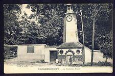 Carte Postale RARE 78 - ROCQUENCOURT La Fontaine Horloge FOULD Animé Borne N 184