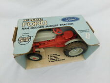 Vintage Ertl #803 Ford Naa Tractor 1/16 Scale Golden Jubilee Orig Box 1953 1986