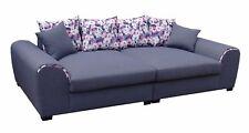 Big Sofa Couchgarnitur Megasofa Riesensofa GULIA -Gobi 4 Anthrazit