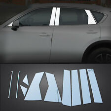 For Mazda CX-5 CX5 2017-2020 Stainless Car Window Center Pillar Post Cover Trim