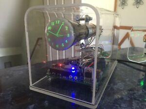 New design century font Mini Oscilloscope Clock 5LO38i CRT Cathode ray tube Scop