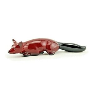 Royal Doulton Flambe Fox Stalking Excellent condition