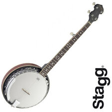 Stagg BJM30 DL 5-String Bluegrass 30 Hooks Banjo with REMO Heads