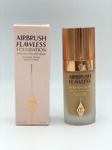 Charlotte Tilbury Airbrush Flawless Foundation Shade 5 WARM 1 oz 30 ml