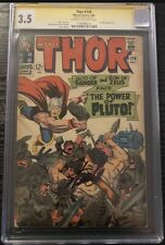 Thor #128 CGC 3.5 Signed Stan Lee - Jack Kirby Cover & Art - Hercules ONLY 15 SS