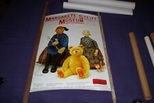 Margarete Steiff Museum Giengen Germany Poster 1910s Two Felt Dolls & Bear