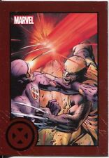 Marvel Greatest Battles Red Bordered Parallel Base Card #43