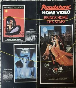 1980's Australian Roadshow Home video one sheet pamphlet, Love at First Bite