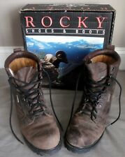 Rocky Bear Claw Hunting Boots Size 8W 800g Thinsulate Vibram Soles