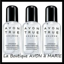 Set of 3 Makeup remover Biphase For makeup waterproof AVON TRUE NEW