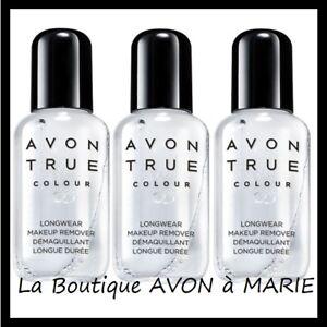 Lot de 3 Demaquillant Biphasé Pour Maquillage waterproof AVON TRUE NEUF