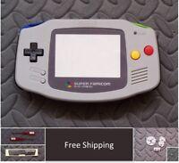 GBA Nintendo Game Boy Advance Replacement Housing Shell Screen Super Famicom