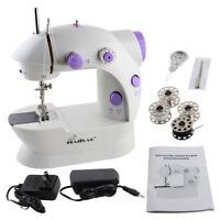 2 Speed Portable Sewing Machine Mini Electric Portable Handheld /Sew Needles