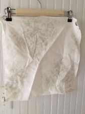 Shabby Chic Serenity Oyster Fabric Sample Green Toile 16x16 Cottage Rose Floral