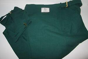 PAYNE STEWART Green Wool GOLF KNICKERS PANTS 30RG NEW GOLFING Springfield 30