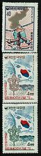 Korea Sc# 328, 358 and 359, Mint Hinged, Hinge Remnant - Lot 010817