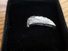 King Baby Studio Sterling Silver 925 WING Ring With Original Box Size 8 - 8053