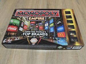 Monopoly Empire GOLD EDITION 2013 Board Game missing Coke Bottle token Like New