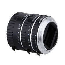 Metal TTL Auto Focus AF Macro Extension Tube Ring for Canon EOS 60D 5D II 550D