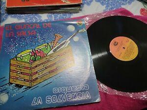 ORQUESTA LA SOLVENCIA EL GUACAL DE LA SALSA CORPODISCO VENEZUELA SALSA LP HEAR