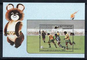 Cap-Vert 1980 Mi. Bl. 2 Bloc Feuillet 100% Neuf ** Sport, Football, Jeux Olympi