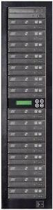MediaStor #a36 LS 1-15 1 to 15 Target DVD Duplicator LightScribe Disc Publishing