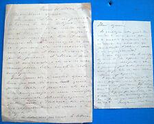 1861 LETTERE INVIATE ALLA MOGLIE DI ENRICO CIALDINI MARIA MARTINEZ. RISORGIMENTO