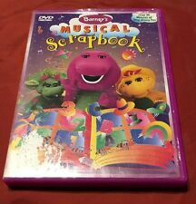 Barney's Musical Scrapbook DVD